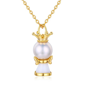Little Princess Pearl Necklace