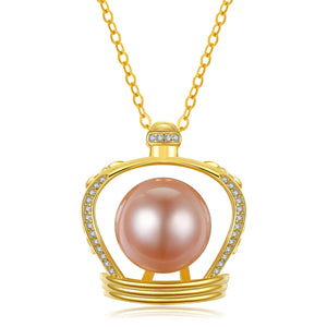 English Crown Edison Pearl Necklace