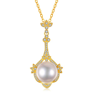Exquisite Beauty Edison Pearl Necklace
