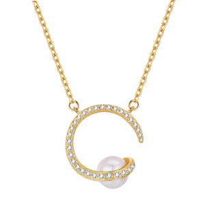 Milky Way Pearl Necklace