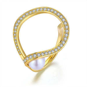 Milky Way Pearl Ring