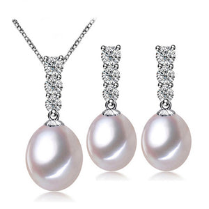 Enchantment Pearl Earrings & Necklace Gift Set
