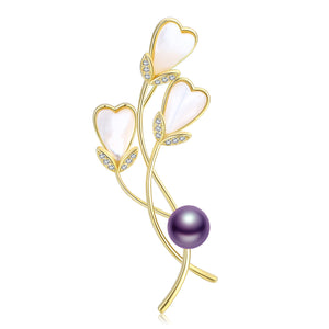 Bouquet of Love Pearl Brooch