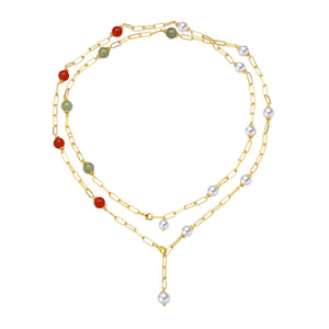 Multi-Styles Freshwater Pearl Necklaces Gift Set