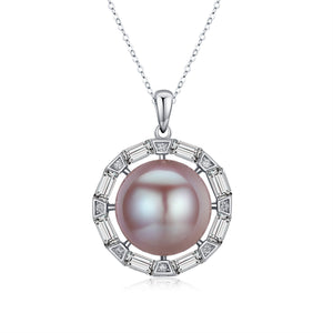 Compass Edison Pearl Necklace