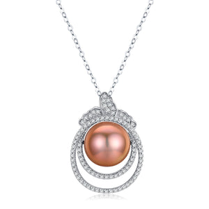 Fruit of Life Edison Pearl Necklace