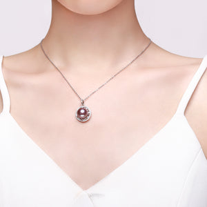 Octagram Edison Pearl Necklace