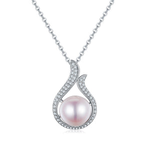 Chloe Edison Pearl Necklace