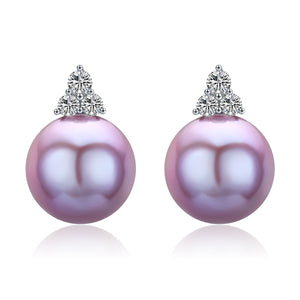 G14K Trinity Edison Pearl Earrings