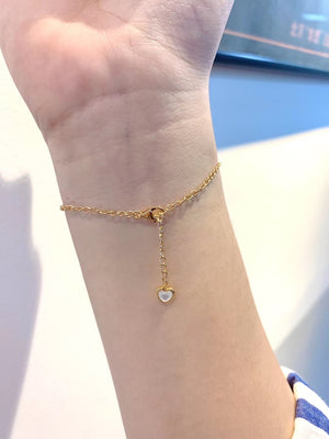 The Mermaid Whale Tail Pearl Bracelet