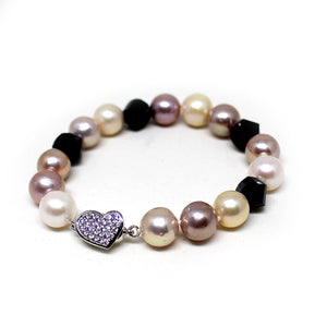 Stylish Giant Edison Pearl Bracelet - Timeless Pearl