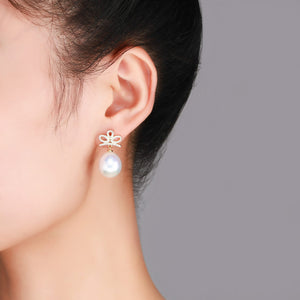 Golden Crown Edison Pearl Earrings - Timeless Pearl