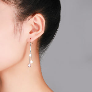 Colorful Drop Earrings - Timeless Pearl