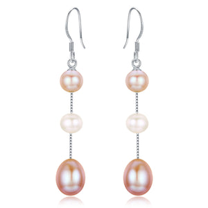 Colorful Drops Earrings - Timeless Pearl