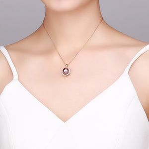 Shining Sunflower Edison Pearl Necklace - Timeless Pearl