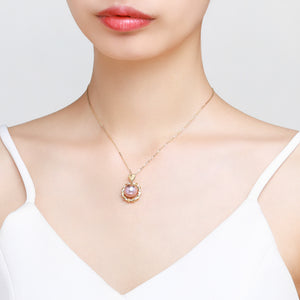 Ring Around the Rosie Pink Pearl Necklace - Timeless Pearl