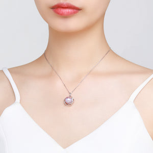 Frozen Sphere Pearl Necklace - Timeless Pearl