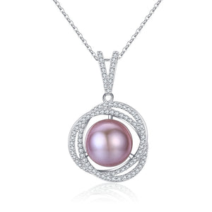 Good Karma Pink Pearl Necklace - Timeless Pearl