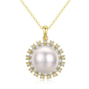 Crown Classic Pearl Necklace - Timeless Pearl
