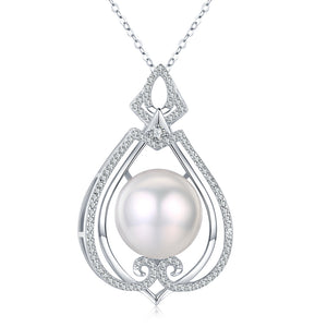 Enchanted Trine Pearl Necklace - Timeless Pearl