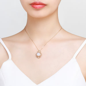 Honeymoon Pearl Necklace - Timeless Pearl