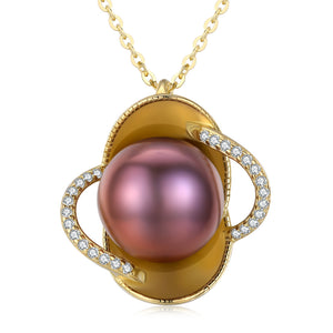 Exotic Paradise Pearl Necklace - Timeless Pearl