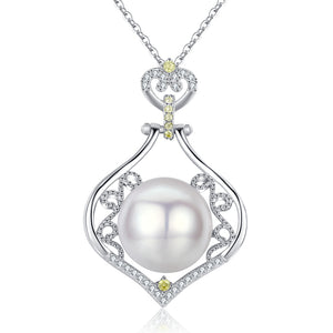 Fairy Tale Classic Pearl Necklace - Timeless Pearl