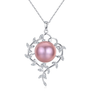 Chaplet Pink Pearl Necklace - Timeless Pearl