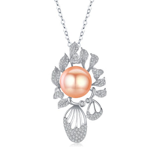 Peach Paradise Pearl Necklace - Timeless Pearl