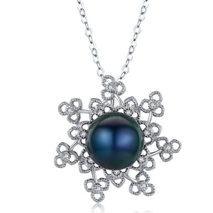 A Winter Night's Dream Pearl Necklace - Timeless Pearl