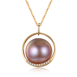 G18k Pinky Promise Pearl Necklace - Timeless Pearl