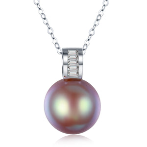 G18k Steam Beauty Luminescent Pearl Necklace - Timeless Pearl