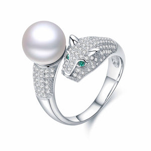 Panther Pearl Ring - Timeless Pearl