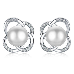 Meteor Earrings - Timeless Pearl