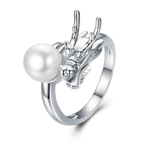 Dragon Pearl Ring - Timeless Pearl