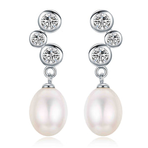 Passion Pearl Earrings - Timeless Pearl