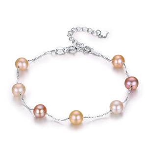 ELEGANT COLORFUL PEARL BRACELET - Timeless Pearl