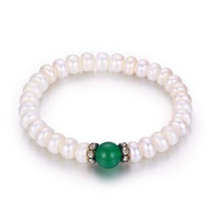 Jade and Pearls - Timeless Pearl