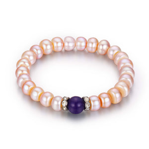 Amethyst and Pearls - Timeless Pearl