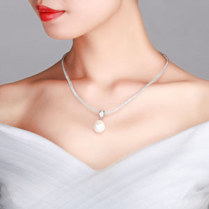 GIANT BAROQUE PEARL FORTUNE ROLL NECKLACE - Timeless Pearl