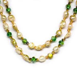 Baroque Cheerful Pearls Necklace - Timeless Pearl