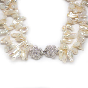 Biwa Queen Pearl Necklace - Timeless Pearl