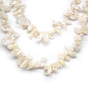Endless Biwa Pearl Necklace - Timeless Pearl