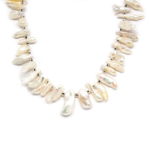 Biwa Princess Pearl Necklace - Timeless Pearl
