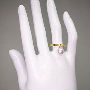 ANTIQUE GOLDEN PEARL RING - Timeless Pearl