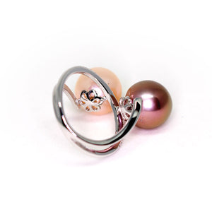 Double Edison Pearls Ring - Timeless Pearl