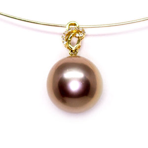 Bronze Treasure Edison Pearl Necklace - Timeless Pearl