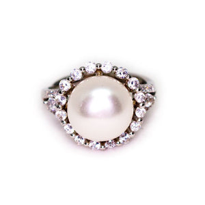 Sunflower Pearl Ring - Timeless Pearl