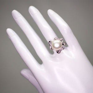 Clover Pearl Ring - Timeless Pearl