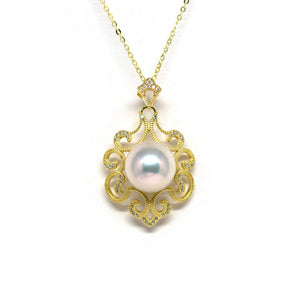 Retro Queen Edison Pearl Necklace - Timeless Pearl